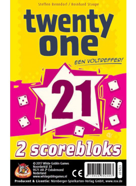 Twenty One Scoreblocks