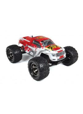 Arrma - 2WD Granite BLX w/ 4600mAh NiMH 8.4V RTR Red
