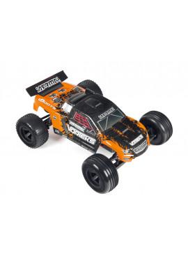 Arrma - VORTEKS 2WD MEGA Brushed Race Truck Orange RTR ( incl Ni Mh 7,2V 2000Mah + charger )