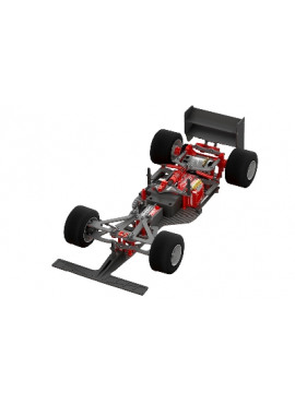 Team Corally - FSX-10 Car Kit - Chassis kit , zonder electronica, motor, body, banden