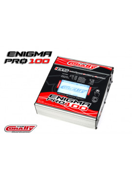 Team Corally - Enigma Pro 100 Charger, AC/DC, 100W, Touch Screen, 2-6 Li-Xx, 1-15 Ni-Xx