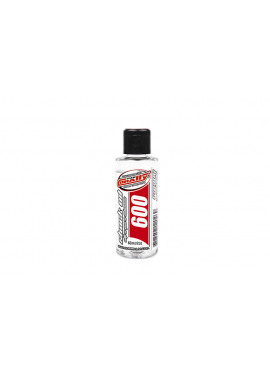 Team Corally - Shock Oil - Ultra Pure silicone schokdemper olie - 600 CPS - 60ml / 2oz