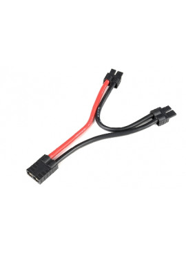 G-Force RC - Power Y-Lead - Serial - TRX - 12AWG Silicone Wire - 12cm - 1 pc