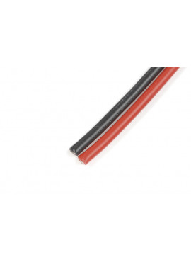 G-Force RC - Superflex silicone kabel 1,3mm² 16AWG, 490 draadjes (1m Rood + 1m Zwart)