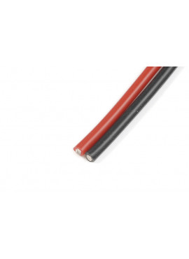 G-Force RC - Superflex silicone kabel 0,9mm² 18AWG, 300 draadjes (1m Rood + 1m Zwart)