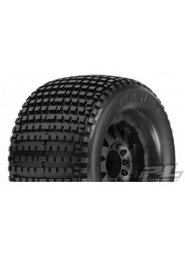 Blockade 3.8 (Traxxas Style B ead) All Terrain Tires Mounted