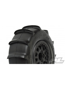 Sling Shot SC 2.2/3.0 XTR Tires (2) Mounted on Renegade Blac
