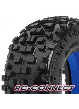 Badlands SC 2.2/3.0 Tires (2) for Slash, Slash 4x4, SC1