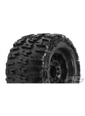 Trencher X 3.8 (Traxxas Style Bead) All Terrain Tires Mounte