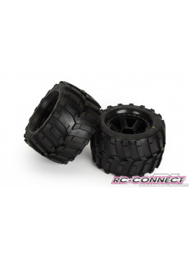 Masher 3.8 (Traxxas Style B ead) All Terrain Tires Mounted