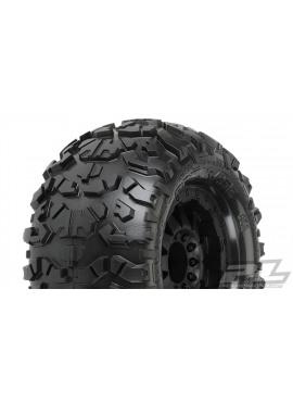 Rock Rage 3.8 (Traxxas Style Bead) All Terrain Tires Mounted