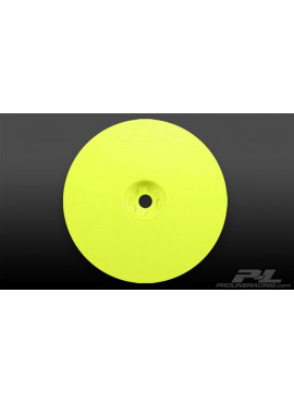 Velocity 2.2 Hex Front Yellow Wheels (2) for RB5 and B4.1