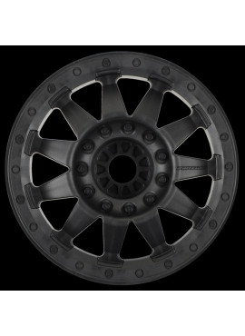 F-11 3.8 (Traxxas Style Bead) Black 1/2 Offset 17mm Wheels (