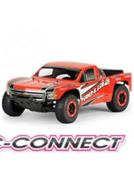 Chevy Silverado 1500 Clear Body for Slash and SC10