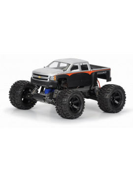 Chevy Silverado 2500 HD Clear body for Stampede