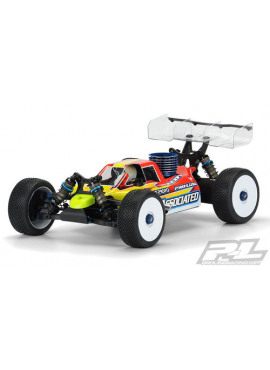 Pre-Cut Predator Clear Body for AE RC8B3