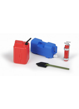 Scale Accessory Assortment # 7 (Water Jug, Plastic Fuel Can,