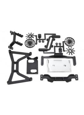RPM70920 no clip body mounts for the Traxxas Slash 4WD