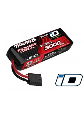 3000mAh 11.1v 3-Cell 20C LiPo Battery ATON!