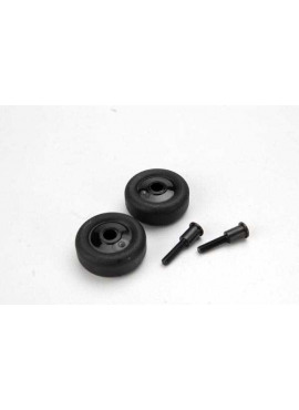 Wheels (4)/ Axles (2), for Maxx wheelie bar