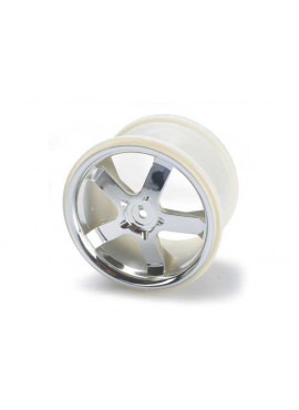 Wheels, Hurricane 3.8 (chrome) (2) (also fits Maxx series)