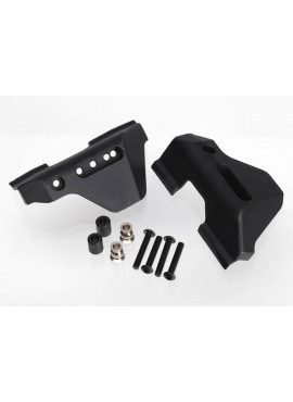 Suspension arm guards, rear (2)/ guard spacers (4)/ hollow b