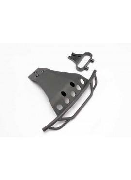 Bumper, front/ bumper mount, front (black)