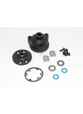 Housing, center differential/ x-ring gaskets (2)/ ring