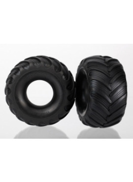 Tires, Monster Jam replica, dual profile (1.5 outer and 2