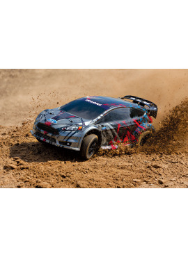 Ford Fiesta® ST Rally, 1/10 Scale, Fully-Assembled, Waterproof, Ready-To-Race®, with TQ™ 2.4GHz Radio System, XL-5 Electronic Speed Control, and Licensed ProGraphix® Painted Body.