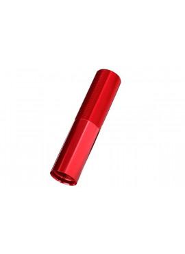 Body, GTX shock (aluminum, Red-anodized) (1)