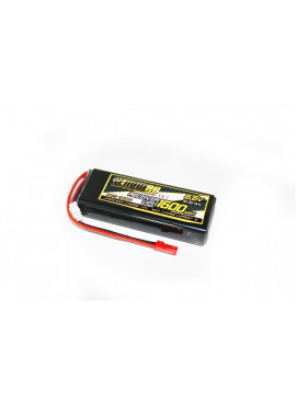 Yellow RC LiFe Receiver Pack Straight 1600mAh 6.6V