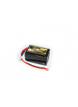 Yellow RC LiFe Receiver Pack Hump 2000mAh 6.6V