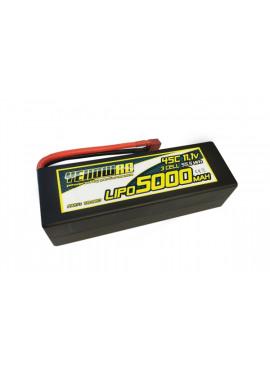 YellowRC LiPo 5000mAh 11,1V 3S45C Hardcase Deans plug