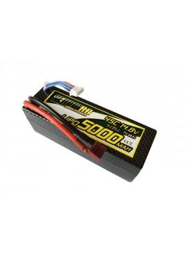 YellowRC LiPo 5000mAh 14,8V 4S45C Hardcase Deans plug