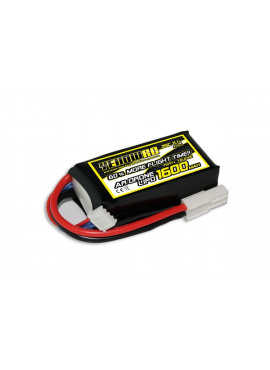 Yellow RC Parrot AR. Drone Tuning LiPo 1600mAh