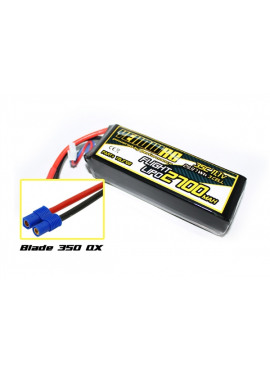 Yellow RC Blade 350 QX Tuning LiPo 2700mAh 11.1V 3S