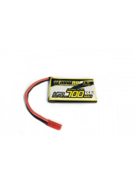 Yellow RC lipo for LaTrax Alias, 3.7V, 700mAh