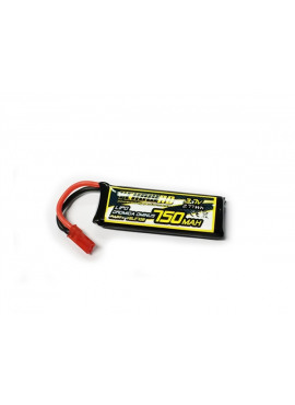 Yellow RC lipo 3.7V with BEC plug for Dromida Ominus