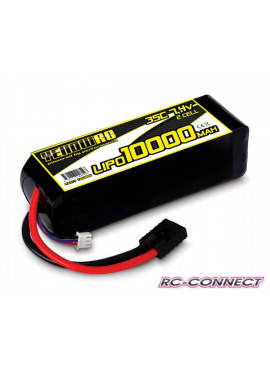 Yellow RC LiPo 10000mAh 7.4V 2S 35C , Stampede Rustler Band