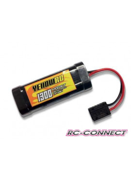 Traxxas Mini 1/16 Pack, 7.2V, 1500mAh (new!) NiMH, Yellow RC