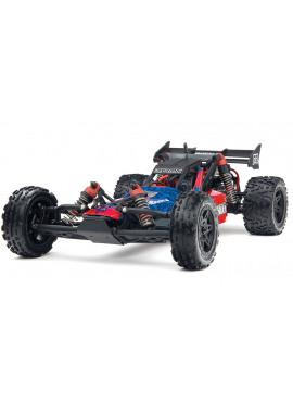 Arrma - RAIDER 2WD MEGA Brushed Dune Buggy RTR Red / Black ( incl NiMh 7,2V 2000Mah + charger )