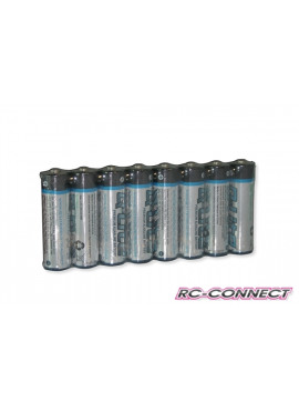 Yellow RC Alkaline AA 1.5V, 8pc