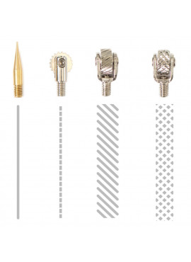 Fuse Tool Tips 4/Pkg Decorative, Cutting & Fusing
