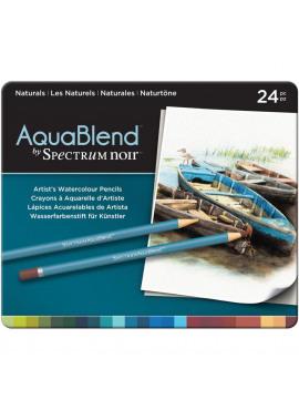AquaBlend Pencils 24/Pkg Naturals