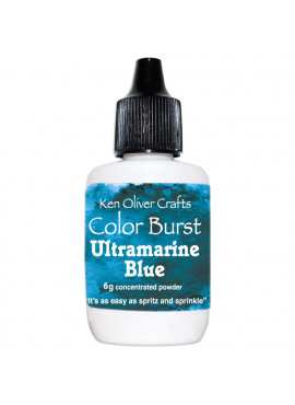 Color burst Ultramarine Blue