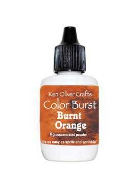Color Burst Burnt Orange