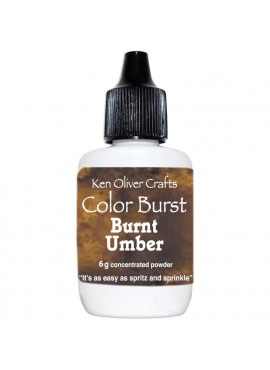 Color burst Burnt umber