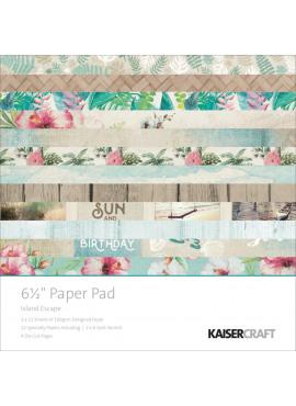 Island escape paper pad