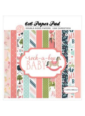 Rock a bye baby 6x6 paper pad